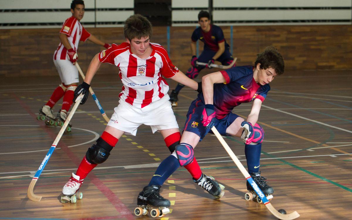 El juvenil goleja el Vic (7-1) i el júnior ja és campió del seu grup