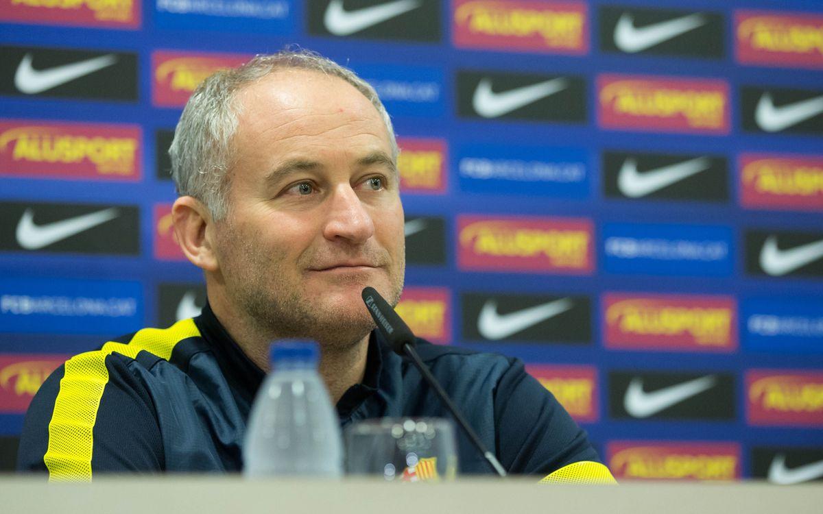 """Marc Carmona: """"No visualitzo guanyar la Copa d'Espanya encaixant 5 gols per partit"""""""