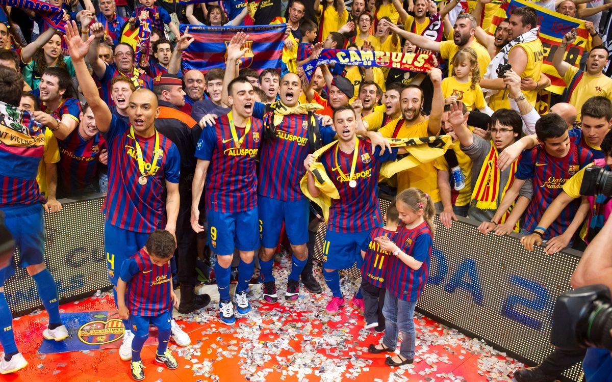 El Barça Alusport designat per la UFEC com el millor equip català de l'any