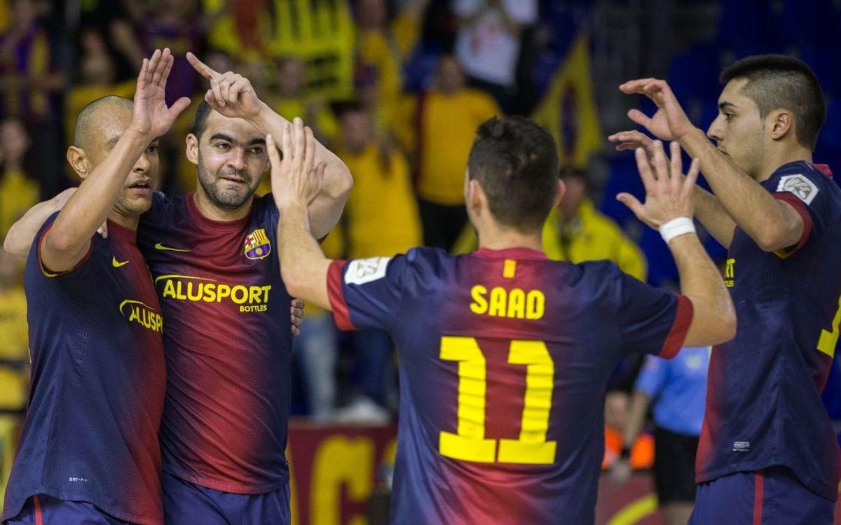 Barça Alusport – Azkar Lugo: Dominant victory (7-0)