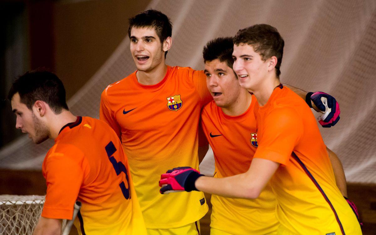 El Júnior supera el Voltregà (5-3) i l'Infantil goleja el Sant Just (12-0)