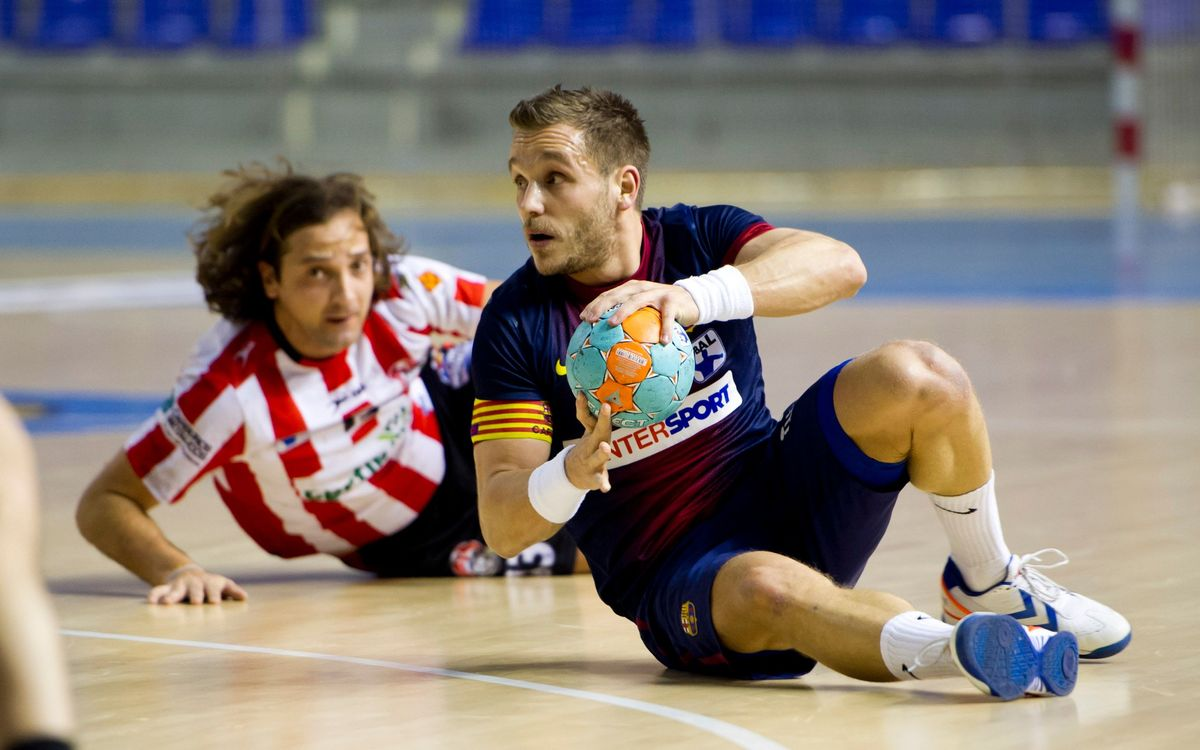 FCB Intersport- Fertiberia Port Sagunt: 19th victory in the league (33-17)