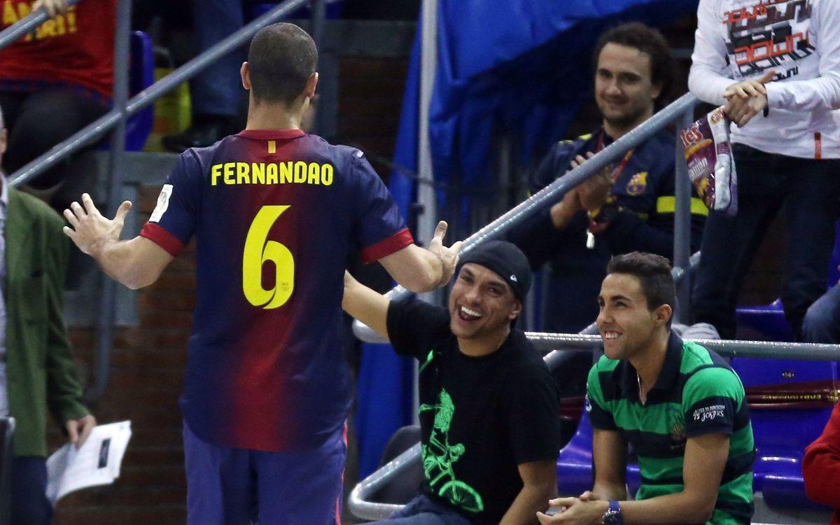 """Fernandao avisa que caldrà """"concentració"""" per sumar """"3 punts molt importants"""""""