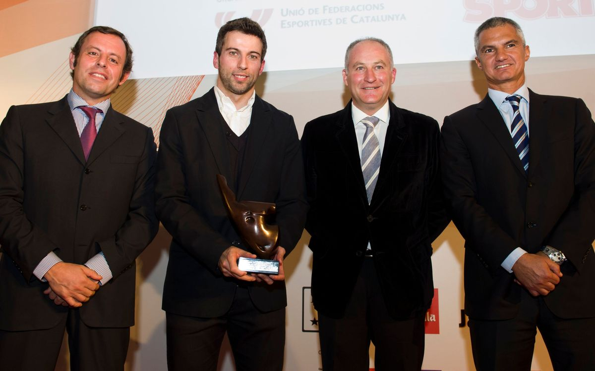 Barça Alusport wins the 2012 Best Catalan Team award