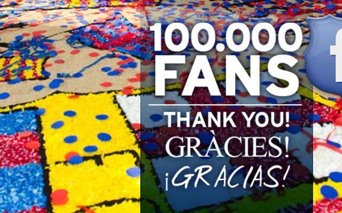 100,000 fans for the Penyes Facebook
