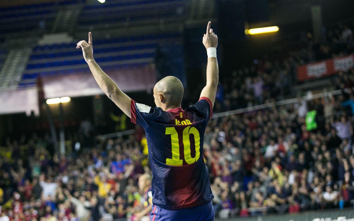 Barça Alusport - El Pozo Murcia: El mejor partido en el mejor momento