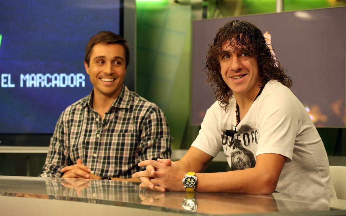 """Carles Puyol: """"Je suis content de revenir et de gagner"""""""