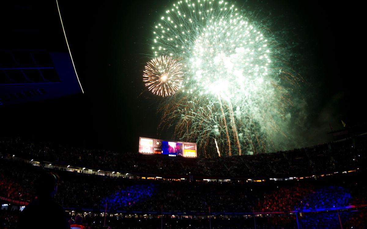 Retrouvez les images de la fête des Champions au Camp Nou