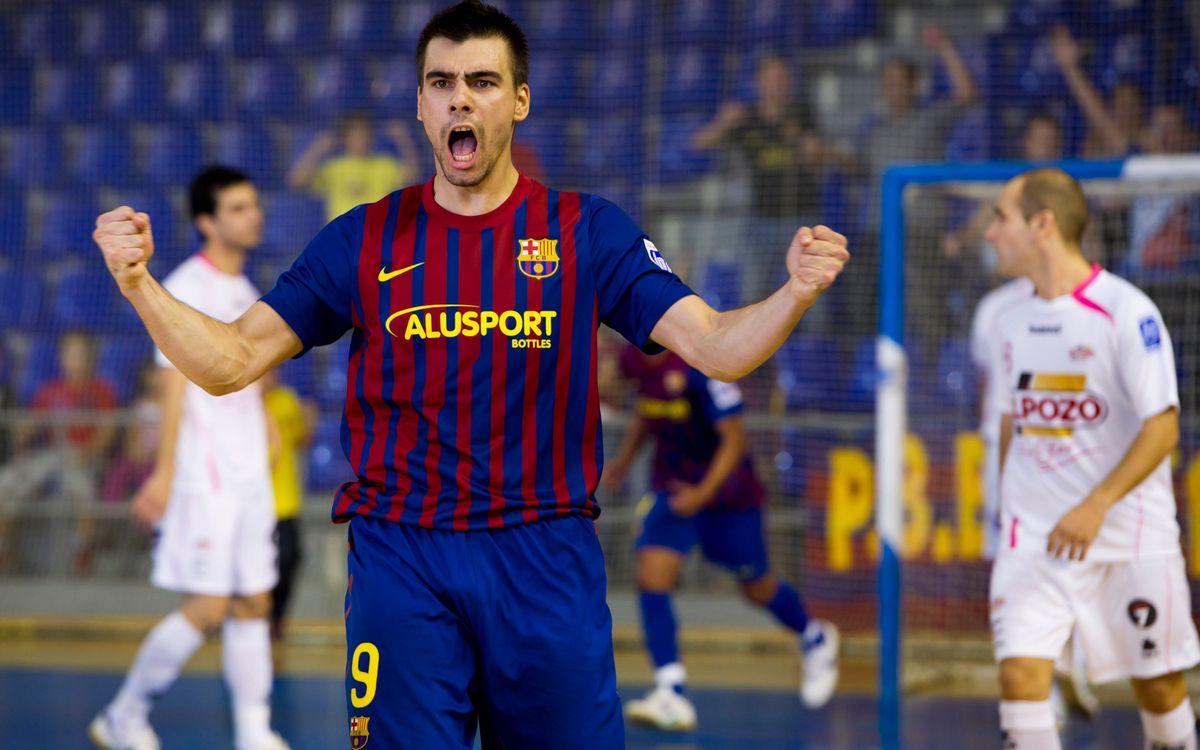La temporada passada el Barça i ElPozo es van veure les cares 9 cops