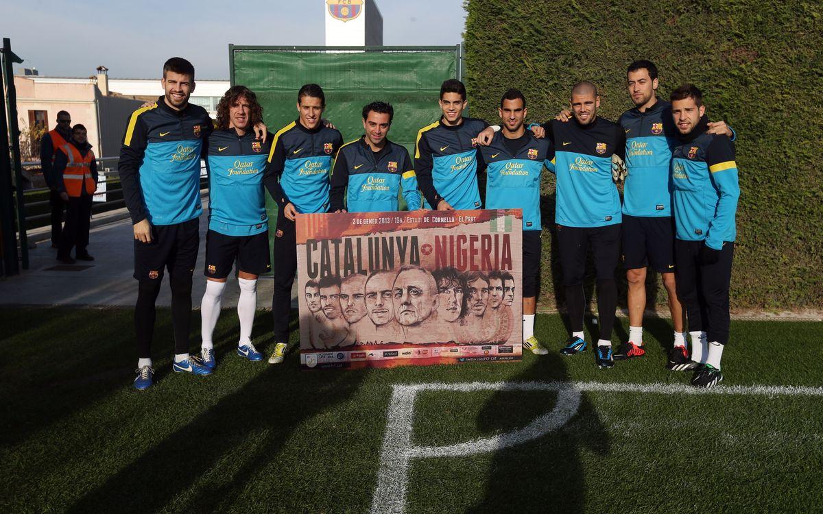 10 jugadors del Barça convocats per al Catalunya-Nigèria del 2 de gener