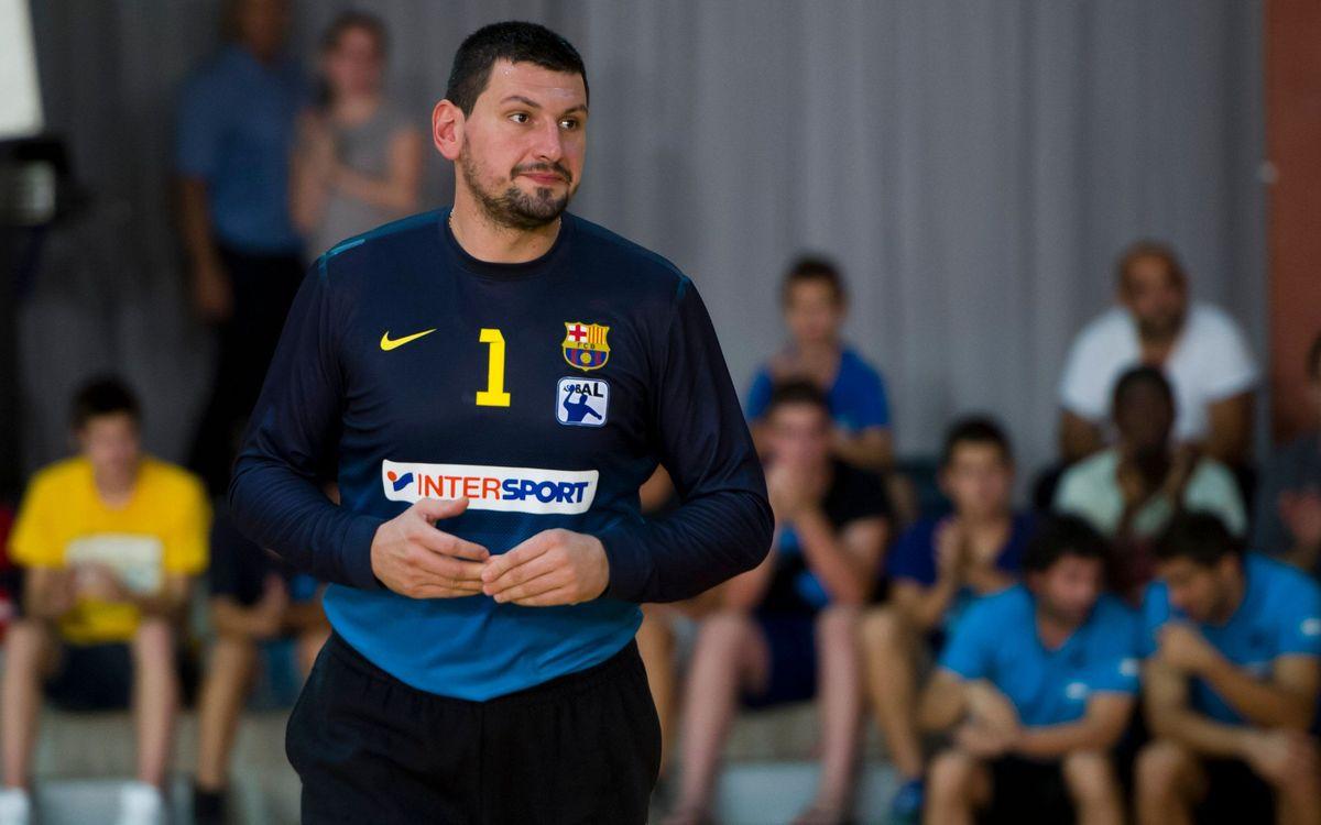 A un pas dels quarts de final de Champions per al Barça Intersport