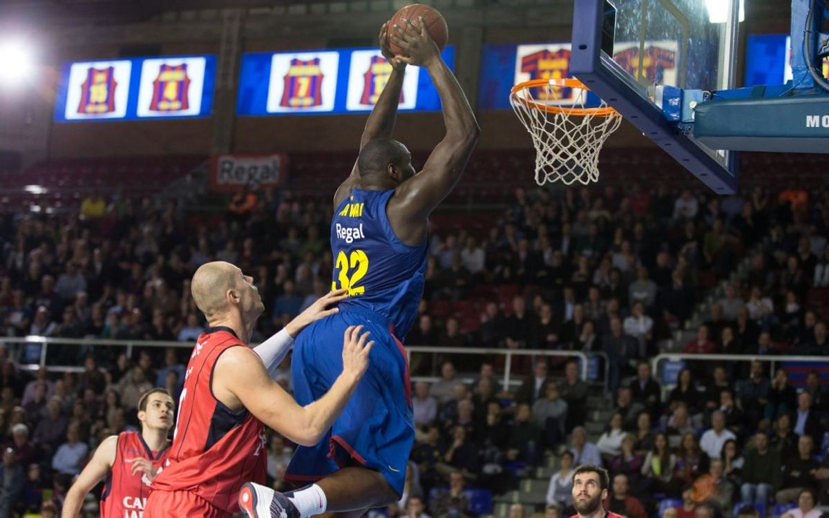 FCB Regal – Caja Laboral: Nearly perfect run in the Top 16 (83-74)