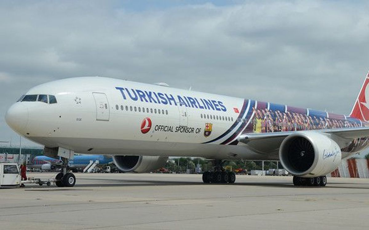 Le Barça remercie la collaboration de Turkish Airlines