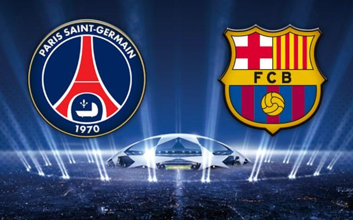 Barça to face PSG in Champions League quarter finals