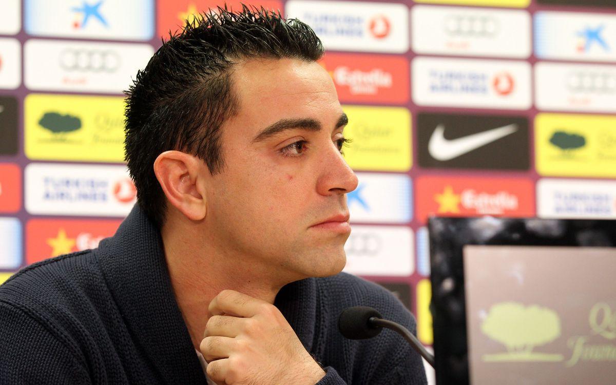 """Xavi: """"C'est difficile, mais nous pouvons le faire"""""""
