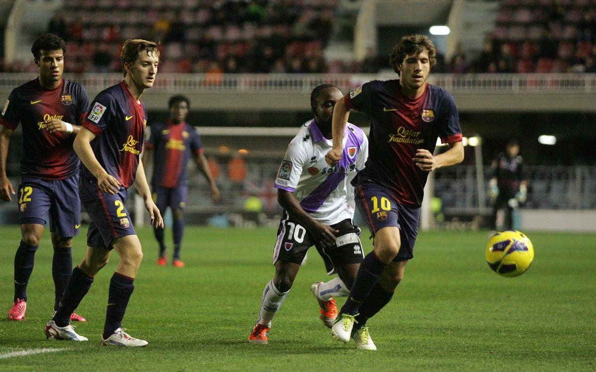FC Barcelona B vs CD Numància (3-3)