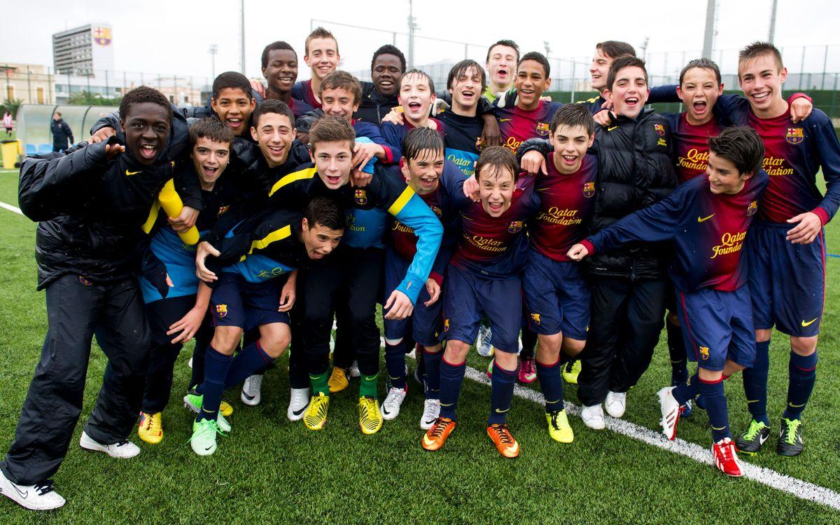 El Infantil A y el Juvenil B, campeones de Liga