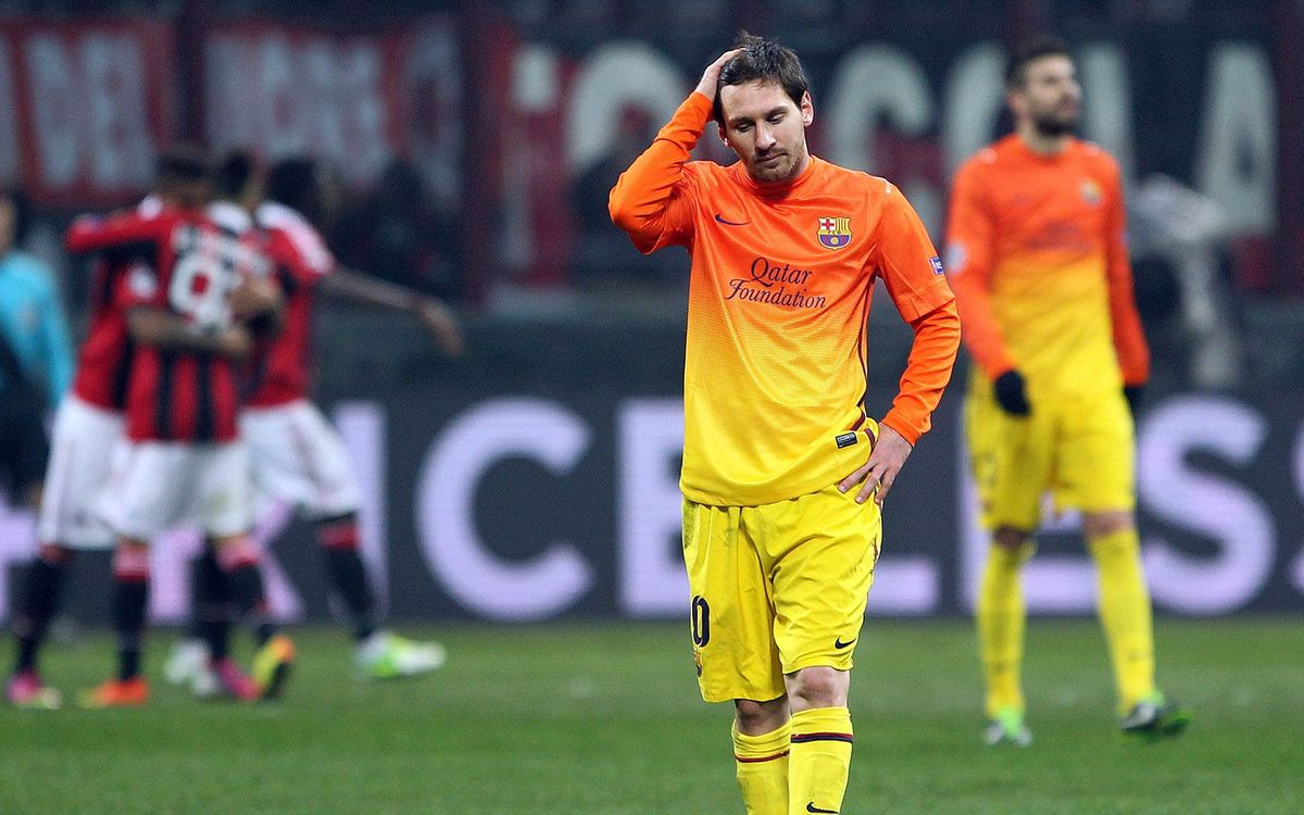 Ac Milan Fc Barcelona Magic Needed At The Camp Nou 2 0