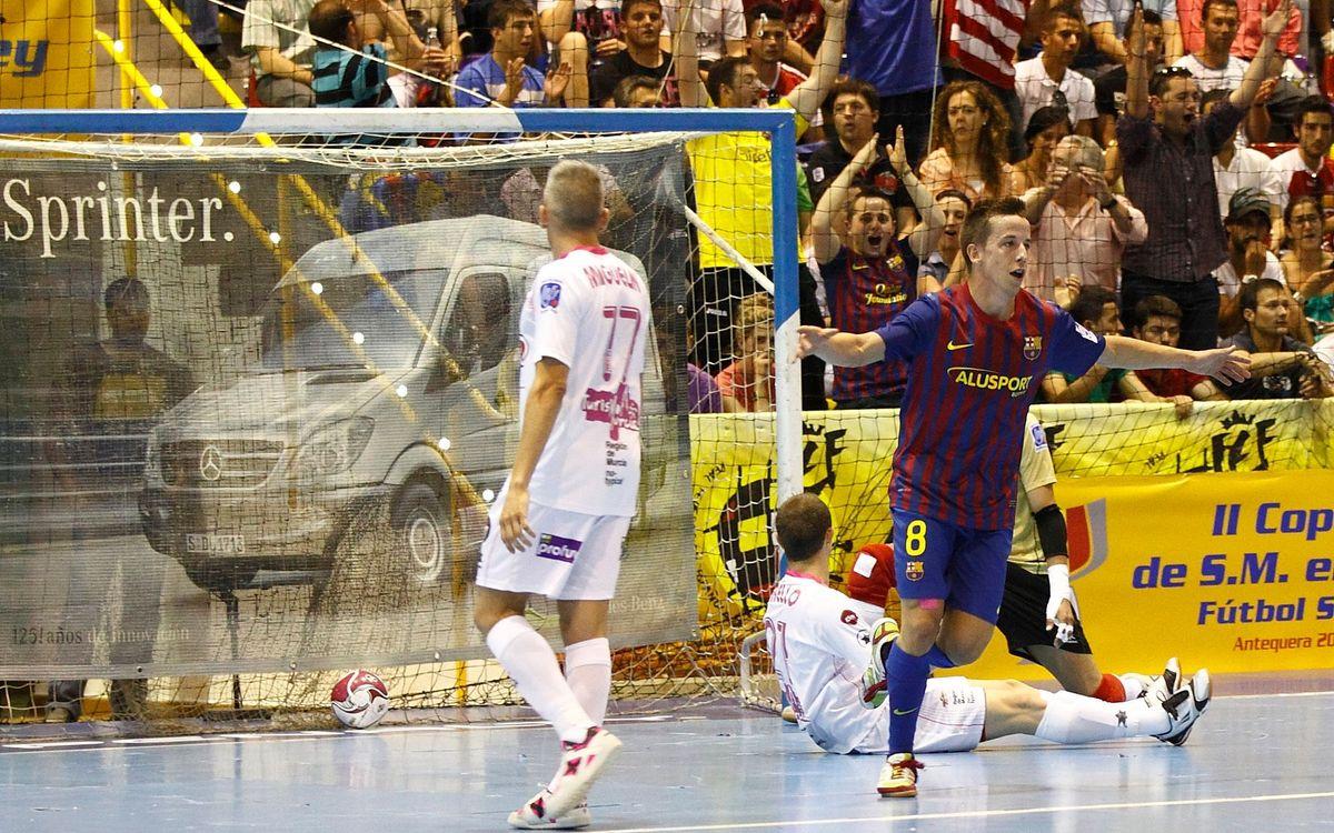 El Barça Alusport jugarà a Irun la tercera final de Copa del Rei consecutiva