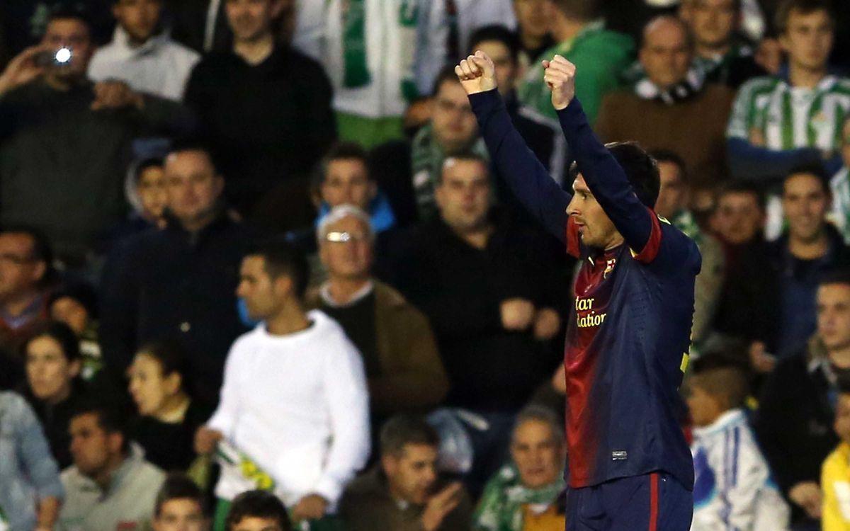 Betis - FC Barcelone: Sans limites (1-2)