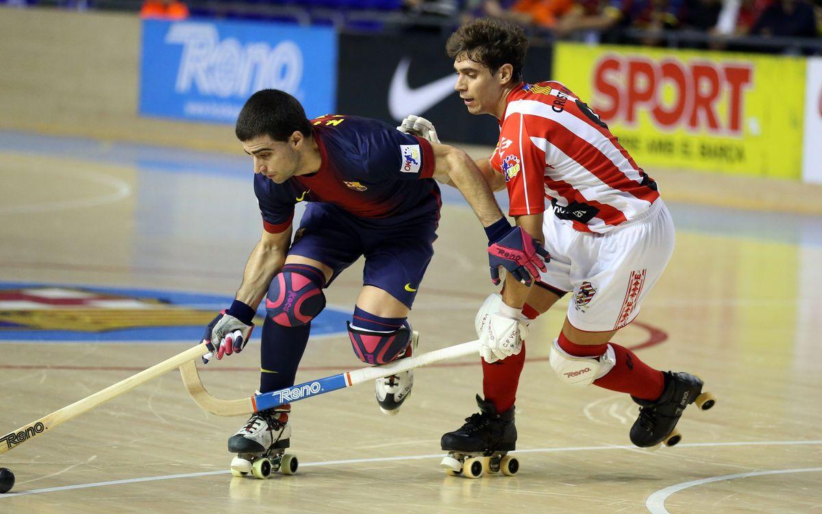 CP Vic - FC Barcelona: Un triomf per seguir retallant diferències