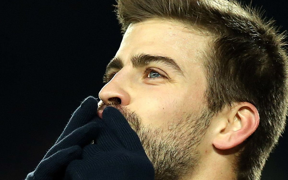 """Piqué: """"we are performing at a great level"""""""