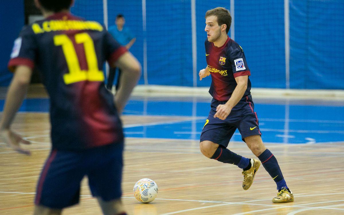 El FC Barcelona Alusport B perd a casa contra el Peníscola (4-5)