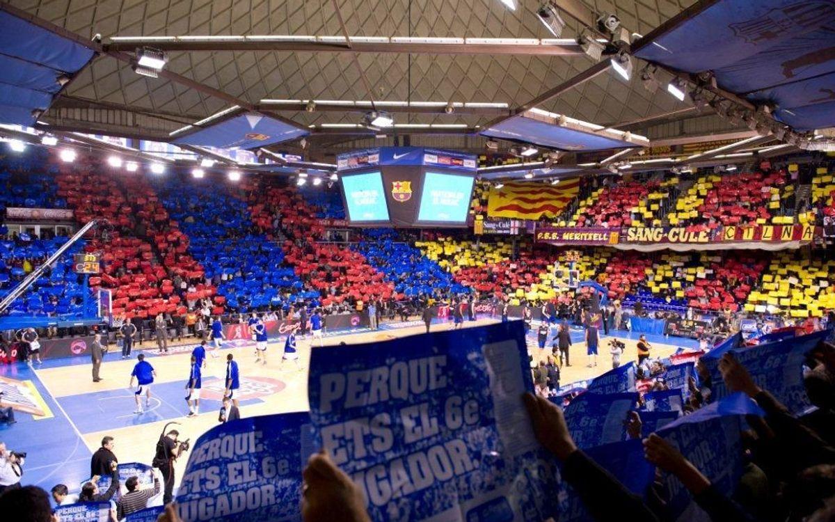 Millora de localitats Palau Blaugrana 2013