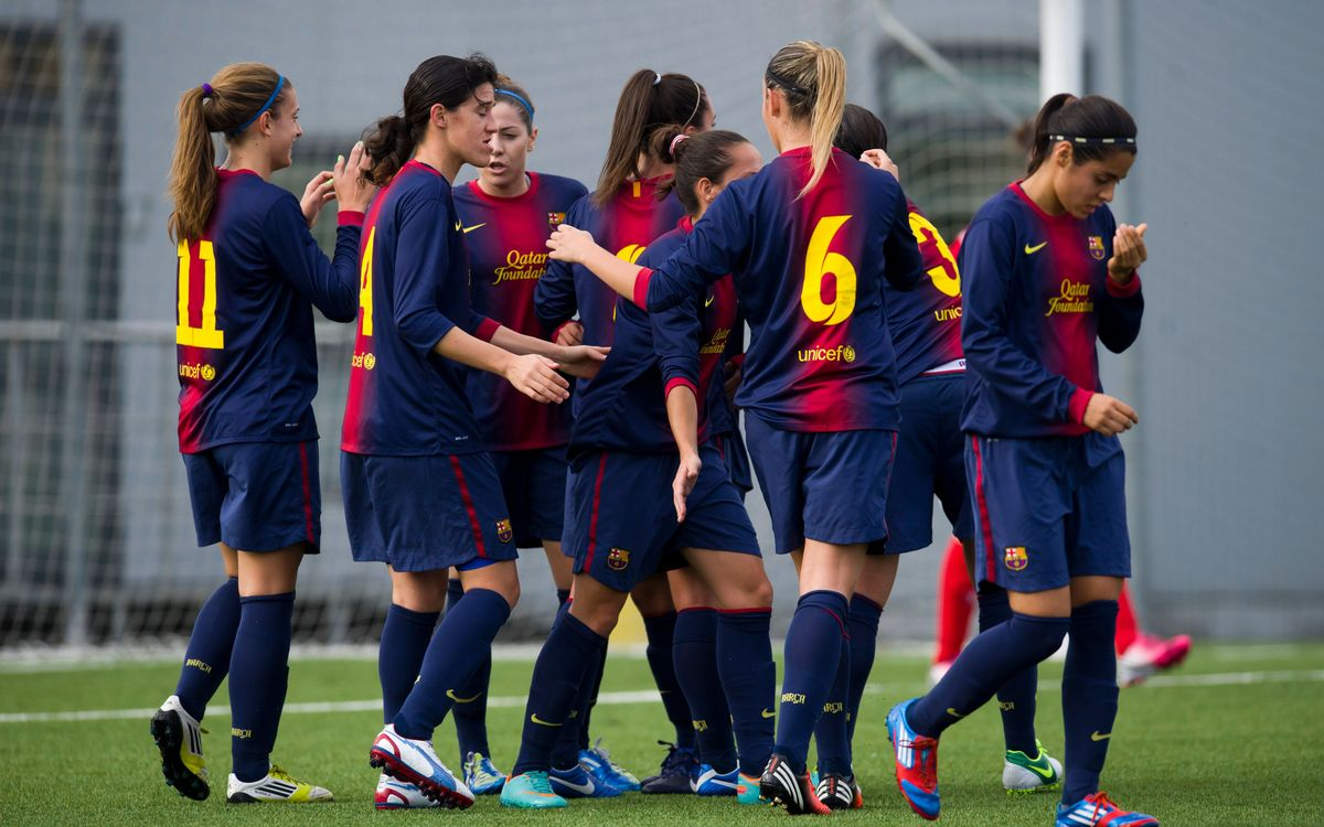 Barça's Women's Team defeat Levante Las Planas (4-0)