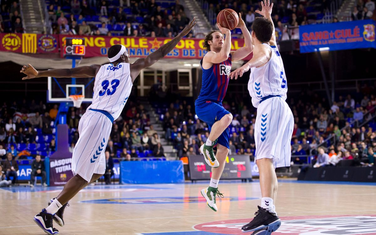 FC Barcelona Regal - Cajasol: Decisive second half (78-64)