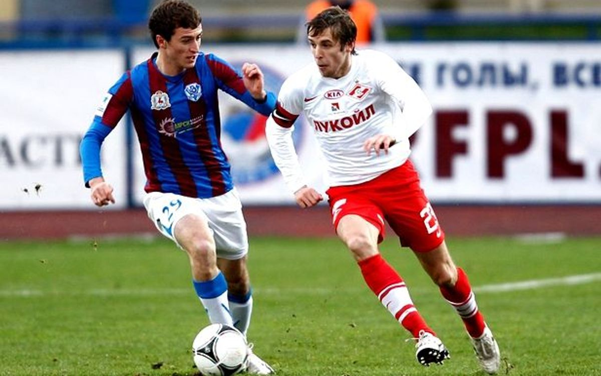 Spartak Moscow were held to one-all draw ahead of their Champions League showdown with Barça