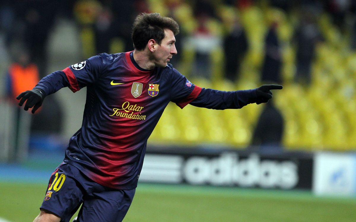 Leo Messi becomes second all-time scorer in the Champions League