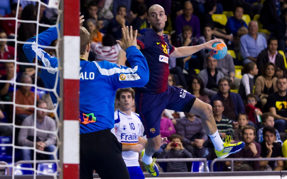 Helvetia Anaitasuna - Barça Intersport: More Leaders! (19-39)