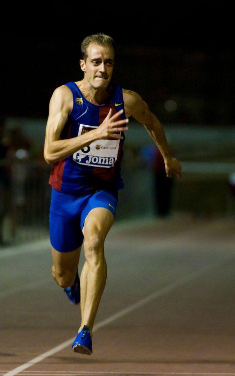 L'atleta del FC Barcelona Ángel David Rodríguez ha aconseguit un nou rècord estatal dels 60 m