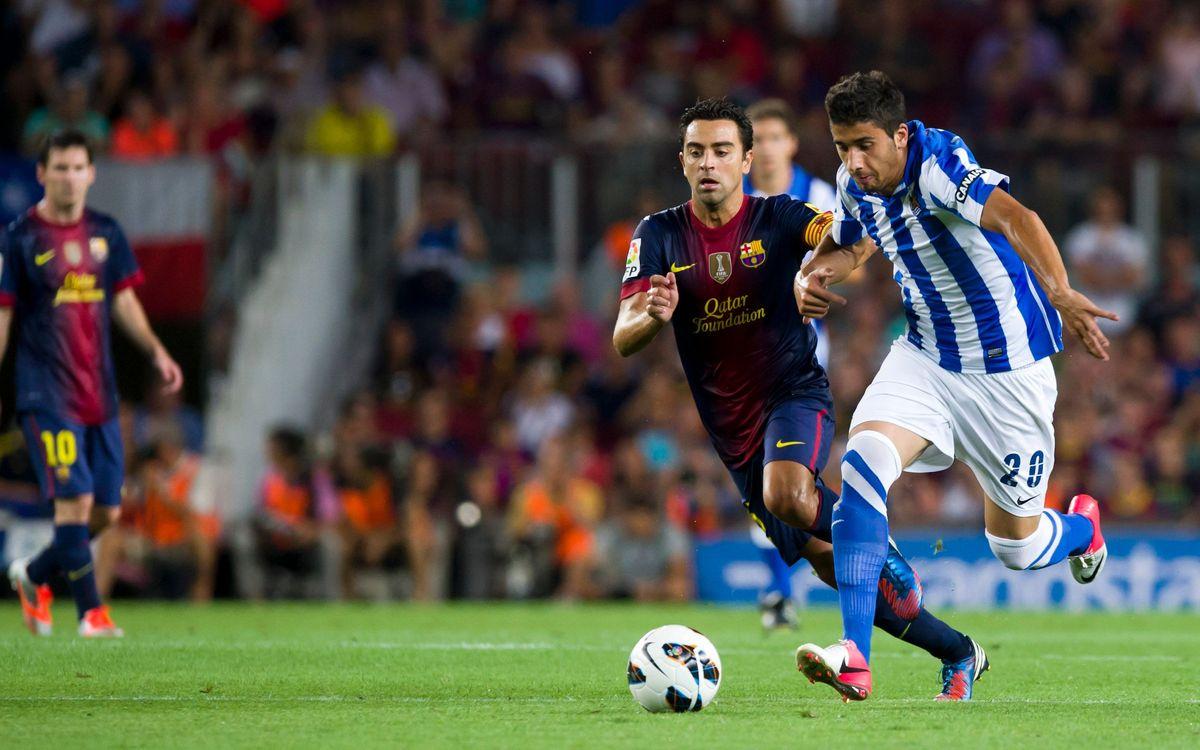Real Sociedad-FCB: Saturday 19, at 18.00