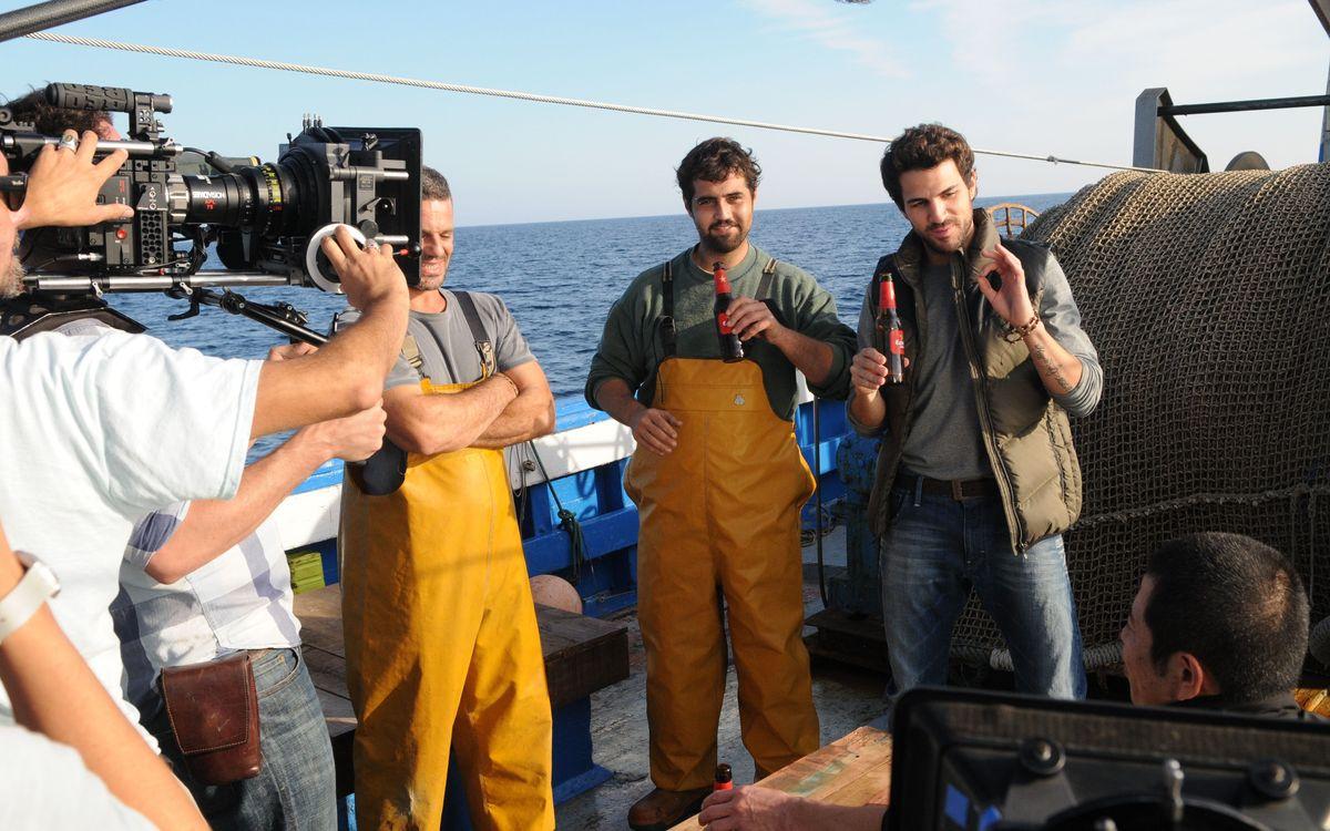 Cesc Fàbregas features in Estrella Damm's most recent television spot