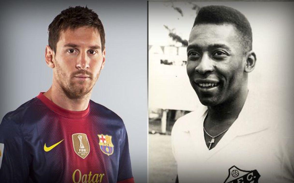Le Roi Messi dépasse Pelé