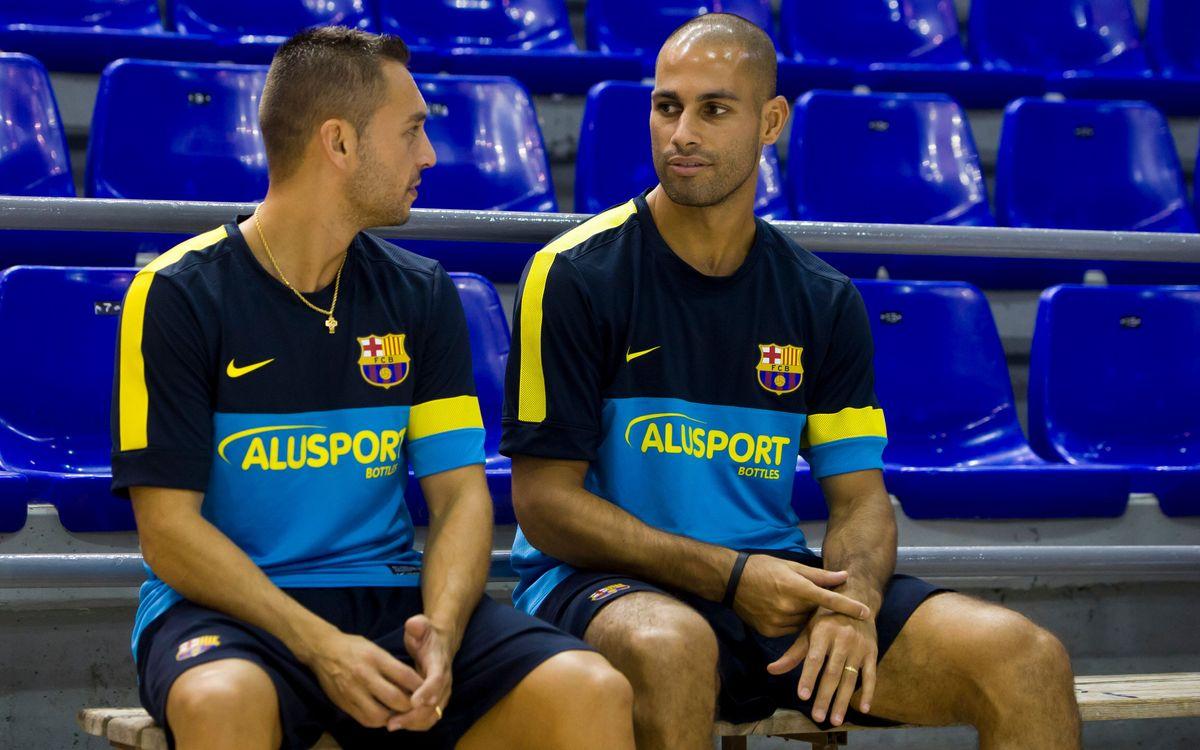 El Barça Alusport tanca al Palma Arena un any inesborrable