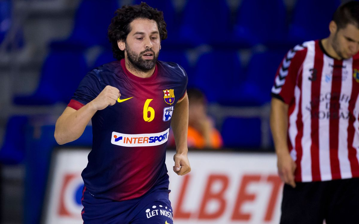 Helvetia Anaitasuna – Barça Intersport: To the quarter-finals (29-33)