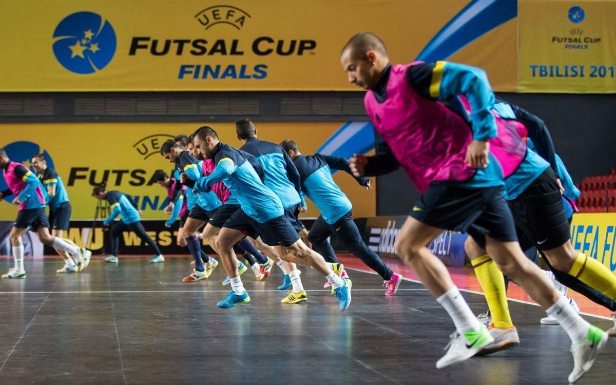 Barça Alusport i Kairat Almaty jugaran la segona semifinal