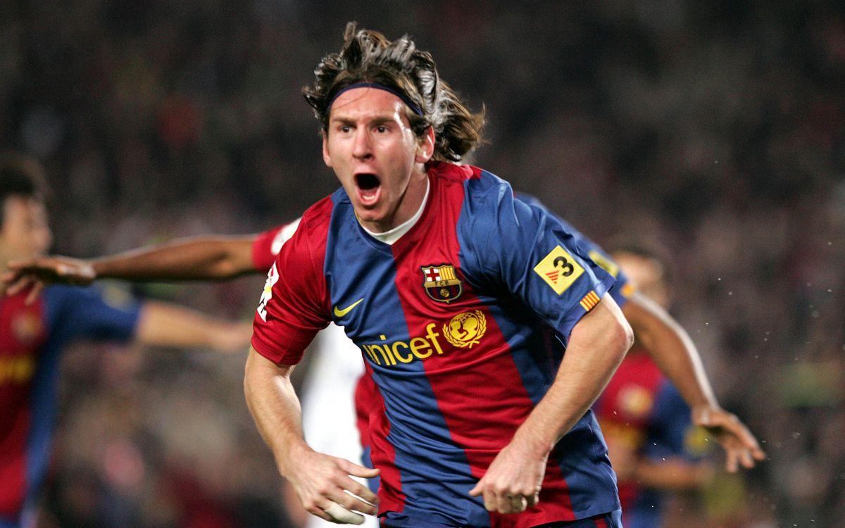 Messi's evolution through the prism of the Clásico
