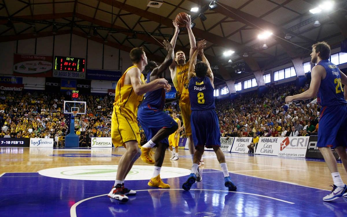 Herbalife Gran Canària – Barça Regal: The run of bad results continues away to Gran Canaria (81-69)