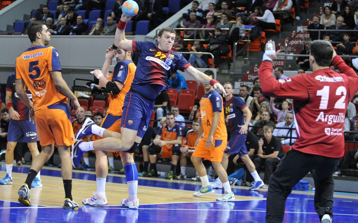 Torna la Copa d'handbol per al FC Barcelona Intersport