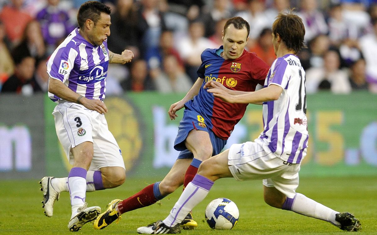 Barça's numbers and stats from their visits to the José Zorrilla
