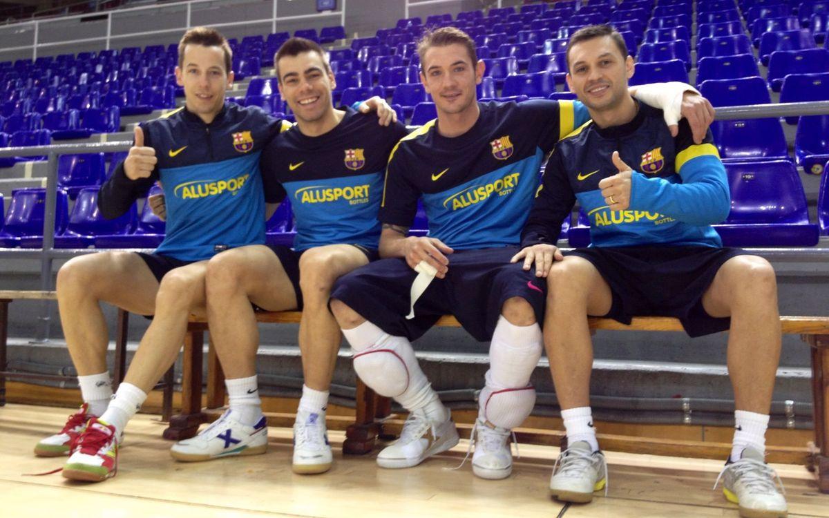 El Barça recupera quatre internacionals per començar a preparar el duel a Múrcia