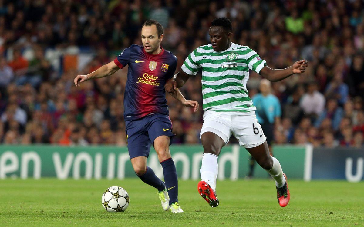 Celtic de Glasgow – FC Barcelona: Mission huitièmes