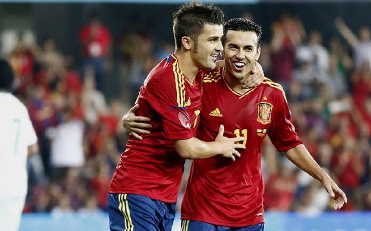 L'Espagne cartonne, le Brésil et l'Argentine font match nul, Alexis se blesse
