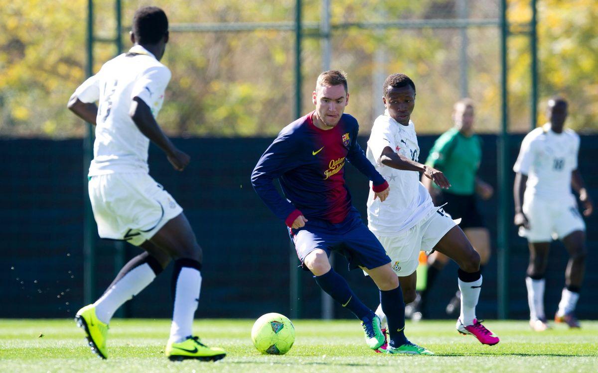 El Juvenil A empata amb la selecció de Ghana (1-1)