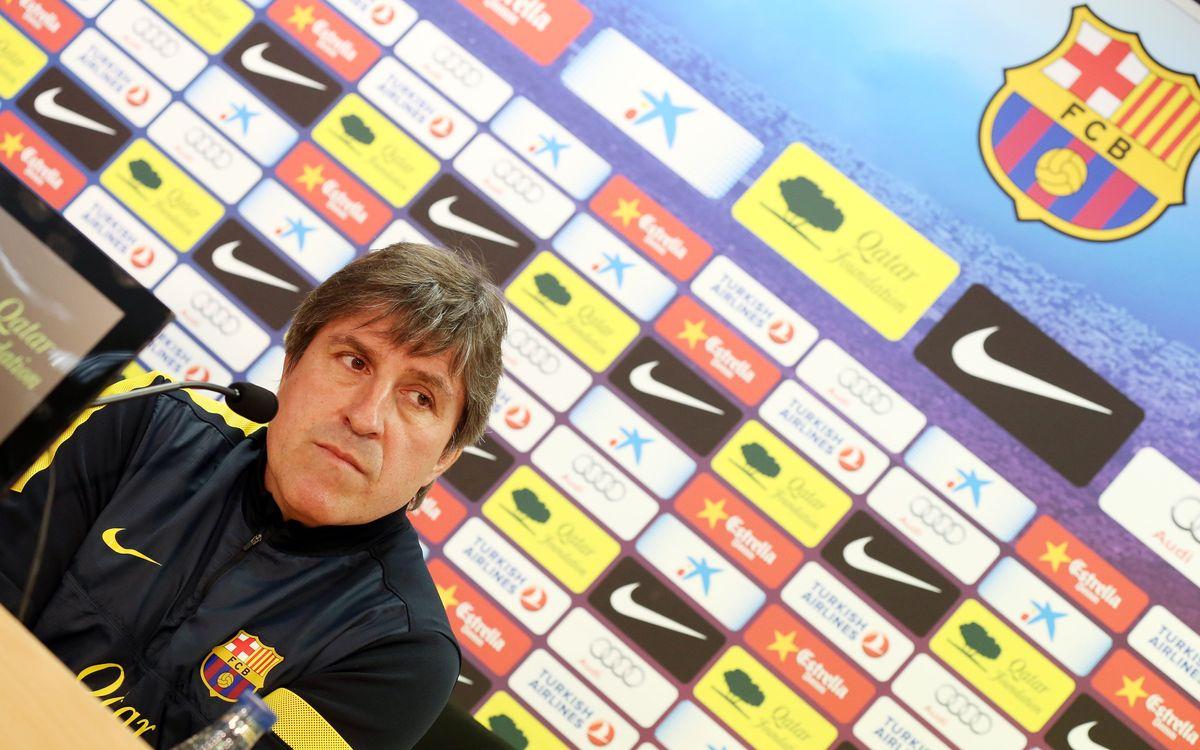 """Jordi Roura: """"En contact permanent avec Tito Vilanova"""""""