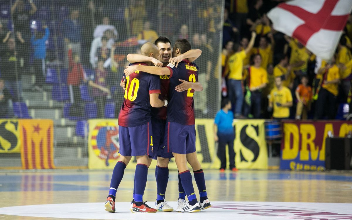 FCB Alusport – Inter Movistar: Triumphant return to the Palau (3-0)